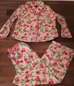 Betsyville Two Piece Pajama Set Size Large